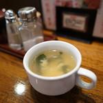 ぶどう亭 - スープ