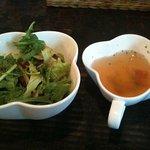 スイートバジル - サラダとスープ