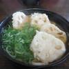 うどん秀 - 料理写真:れんこんうどん550円。