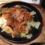 サムギョプサルと野菜 いふう - 豚キムチ