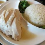 78511716 - 南海鶏飯 ハイナンジーファン 鶏肉 サフランライス 胡瓜