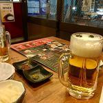 元祖やきとり串八珍 - 生ビールと!