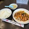 萬珍軒 - 料理写真:油淋子鶏