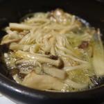 みっきー食堂 - きのこのガーリックオイル煮