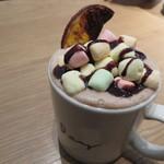 RHC CAFE - 1712_RHC CAFE 大阪店_マシュマロオランジェット(ホット)@700円