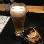 酒と肴 Shin - ドリンク写真:やっぱ生が好きよね のどごしが最高♪