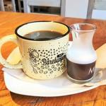 78515609 - たっぷりのオーガニックコーヒー