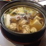 一粋 - 白子鍋