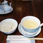 78517603 - ご飯とスープ
