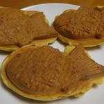 おめで鯛焼き本舗 - 料理写真:餡のたい焼き三匹