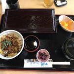 78518117 - 穴子丼セット¥1350