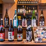 一誠 - 日本各地から集めたお酒が充実。季節ものや限定ものの隠し酒も…