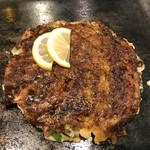 ねぎ焼きお好み焼き鉄板焼き こてぶき - 「豚ねぎ焼き」