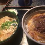 京栄 - 他人丼とうどん