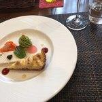 Kokoro - コースCの前菜(ツリー仕立のブロッコリームース・キッシュ・ズワイガニのテリーヌ)