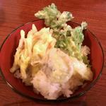 お休み処 芭蕉苑 - 天丼作ってみました