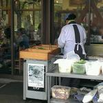 お休み処 芭蕉苑 - お外で天ぷらを揚げまくってます