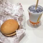 マクドナルド - ハンバーガーとコカコーラゼロ