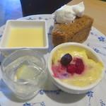 カタマリ肉ステーキ&サラダバー にくスタ - ズッパイングレーゼ(右下)