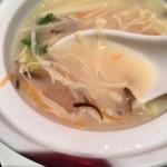 78523597 - 湯葉、春雨、魚のコラーゲン白湯スープ