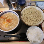 78524911 - つけ麺(背脂) あつ盛り 780円  ライスサービス
