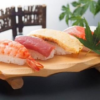 にぎり寿司食べ放題もご用意!