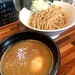 五ノ神水産 - 味玉つけ麺銀だら搾り(950円)
