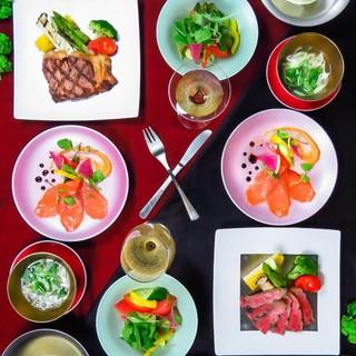 飲み放題付き!黒毛和牛×熟成肉のお手軽コース◆3,980円~