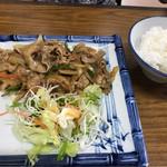 おいしん坊 - 生姜焼き定食