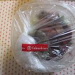 発酵デリカテッセン コウジ&コー - 塩麹漬けローストビーフと豆腐のサラダ
