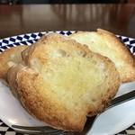 ティールーム ココ - フランスパンのバタートーストが美味しいですよ!(2017.12.26)