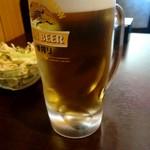 ヒルビュウ - 生ビール