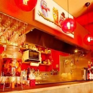 紹興酒で作る「サングリア」は、中華料理に合うと好評です
