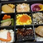 キヨスク - 料理写真:北海道の幸を使用した7種類の弁当はお値段以上の価値あり