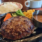 トマト&オニオン - プレーンハンバーグランチ ¥647