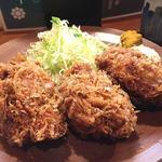 三友 - カキフライ定食(3個)1,400円(税込)