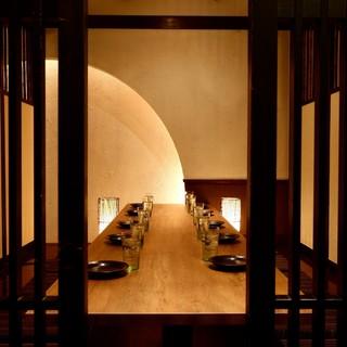 【NEWOPEN】雰囲気抜群のモダン個室は最大70名様まで