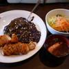 てきさす - 料理写真:テキサスロールカレー