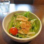 宮の森珈琲 - サラダ