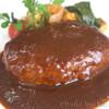 フランス食堂 シェ・モア - 料理写真:ハンバーグ