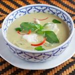 クワンチャイ タイ食堂茶屋町店 - グリーンカレー
