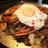 花たぬき - 料理写真:デラックス焼そば(油かす入り)