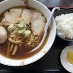 大勝食堂 - ラーメン&味玉&ライス