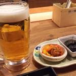 鯛之鯛 - 1712_鯛之鯛 神戸三宮店_ビール@10円(ファーストドリンク)