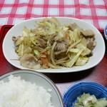 ひふみ - 野菜炒め定食