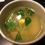 鳥福 - 鳥福(鶏スープ)