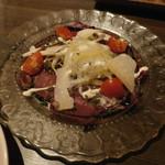 博多イタリアンチーズバル バルバル - 馬刺しのカルパッチョ