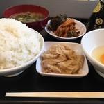製麺屋慶史 麺ショップ 西月隈 - 朝定食