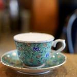 78545957 - ウーロン茶ラテ¥550                       ふわふわのフォームミルクがたっぷり