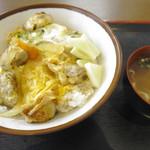 めしや池原 - 親子丼(600円)